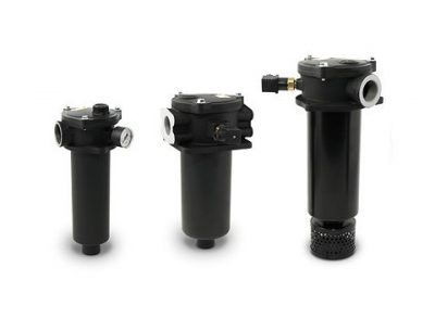 Tank mounted return line filters